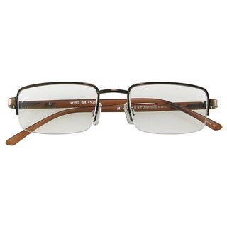 m by max studio s brown reading glasses overstock