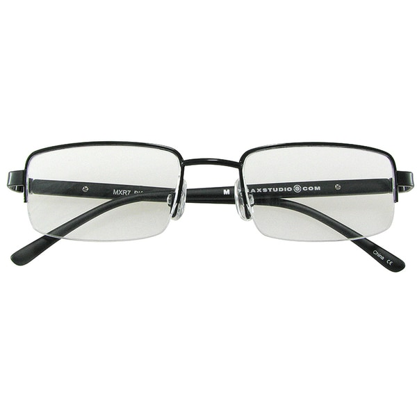 m by max studio s black reading glasses overstock