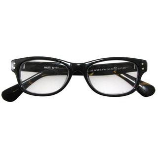 M by Max Studio Men's Black/ Tortoise Reading Glasses