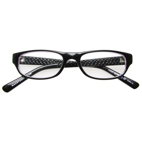 Max Studio Black/ Pink Reading Glasses