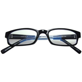 max studio s black teal reading glasses overstock