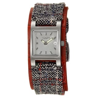Nixon Women's Silver-Dial Stainless-Steel 'Trixie' Watch