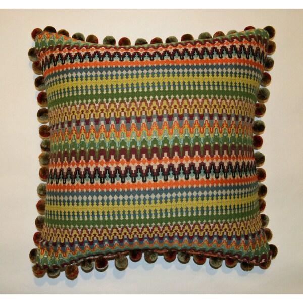 Jar Designs 'Bohemian Multi' Throw Pillow