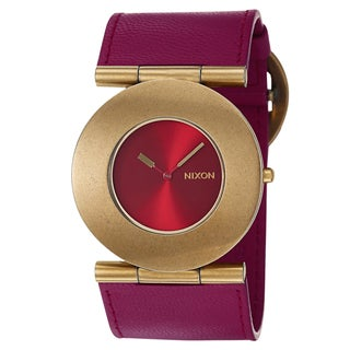 Nixon Women's Antique Yellow Goldtone 'Superior' Watch