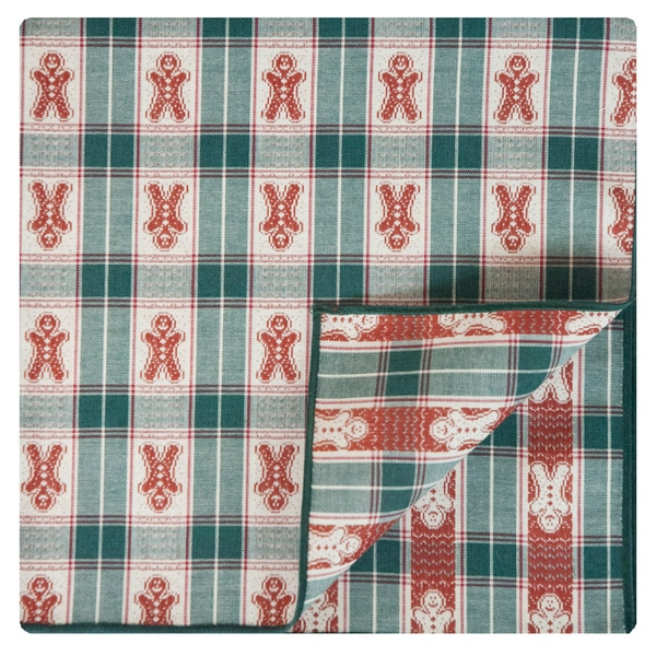 Hunter Napkin by Rose Tree 'Gingerbread Plaid' Napkins (Set of 6)