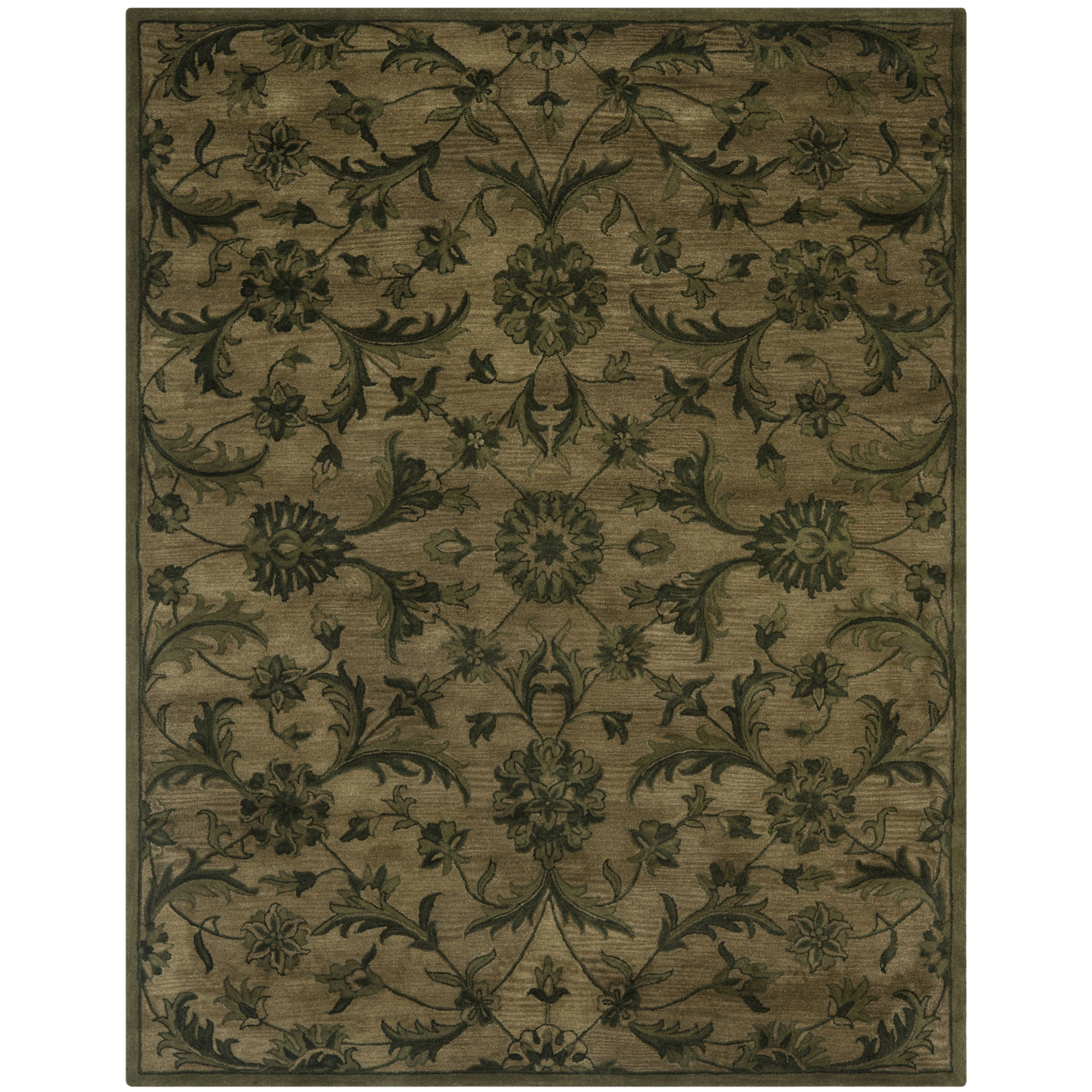 Green Wool Rugs Green Cotton 80 Area Rugs Overstock Shopping