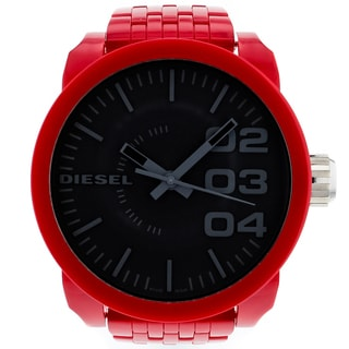 Diesel Men's Domintation Red Watch