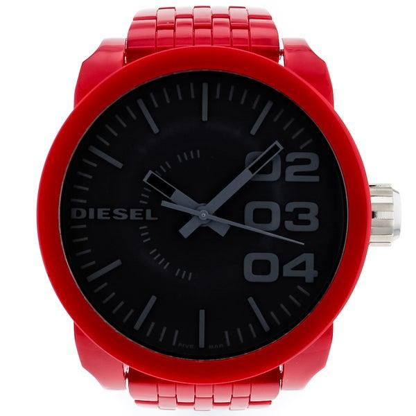 Diesel Men's Domintation Red Watch