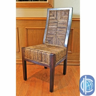 International Caravan International Caravan Twisted Abaca Chair (2)
