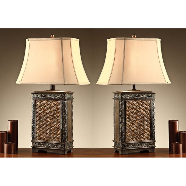 Kingdin 35-inch Table Lamps (Set of 2)