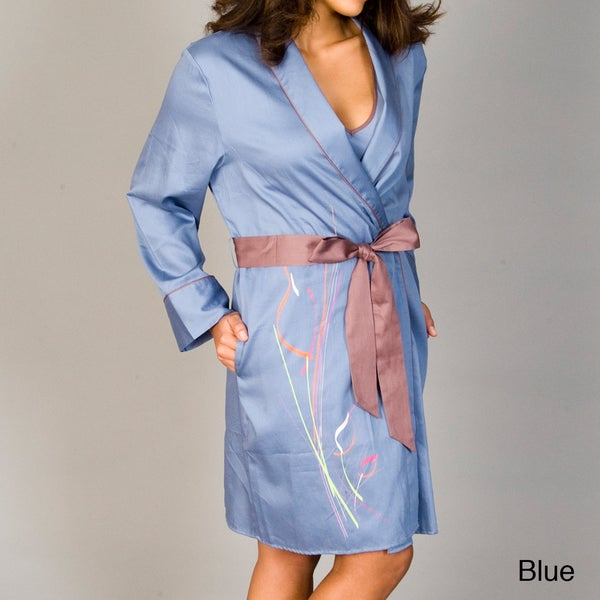 Julianna Rae Women's Harmony Print Cotton Wrap