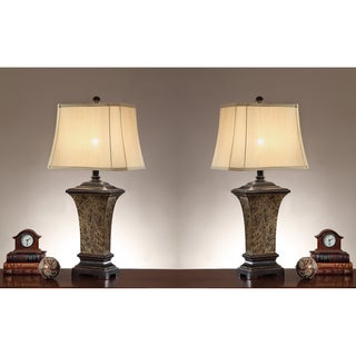 Lulu 35-inch Table Lamps (Set of 2)