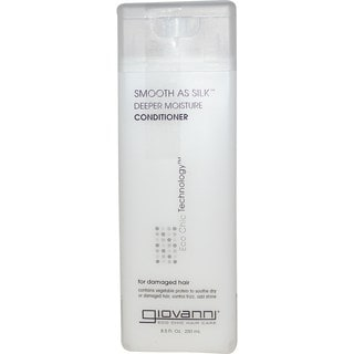 Giovanni Smooth As Silk Deeper Moisture Organic 8.5-ounce Conditioner
