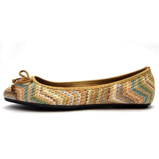 New Edition Women's 'Misha' Multicolored Flats