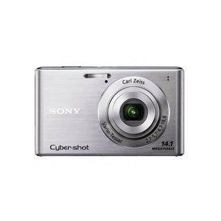 Sony Cyber-Shot DSC-W550 14.1MP Silver Digital Camera (Refurbished)