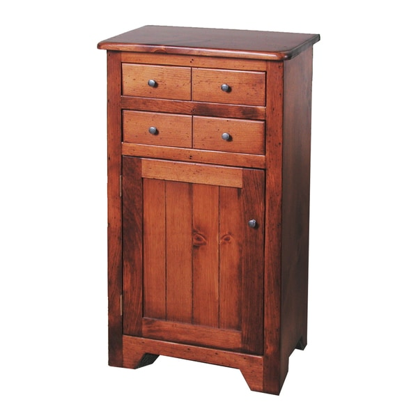 2-Day Designs Pine Finished Two-drawer Chest