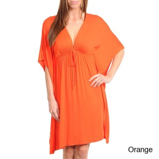 Stanzino Women's Butterfly Sleeve Dress