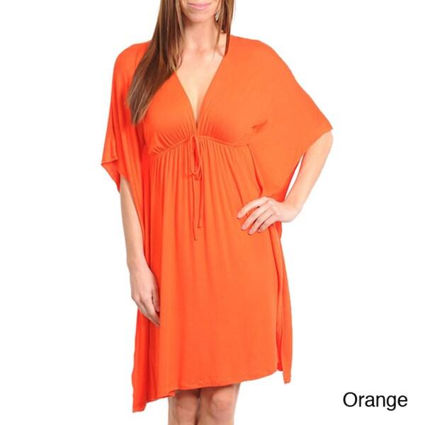 Stanzino Women's Butterfly Sleeve Dress