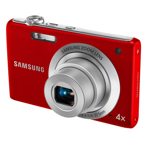 Samsung ST60 12MP Red Digital Camera