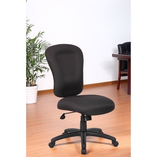 Aragon Black Memory Foam Task Chair