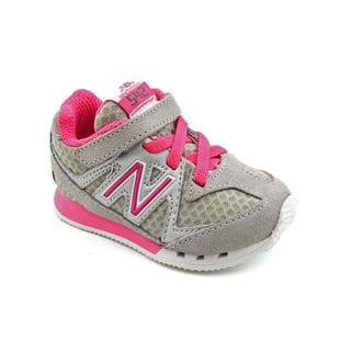 New Balance Girl's 'KV542' Regular Suede Athletic Shoe