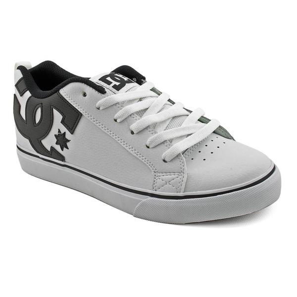 DC Men's 'Court Vulc' Leather Athletic Shoe