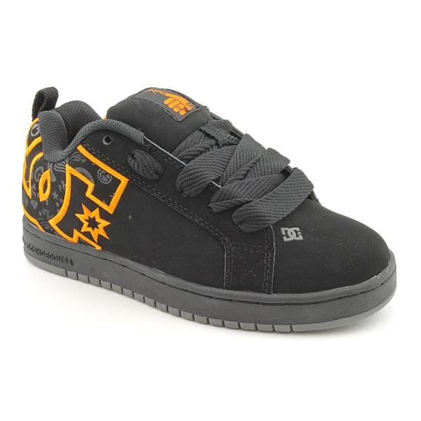DC Boy's 'Court Graffik TP' Nubuck Athletic Shoe