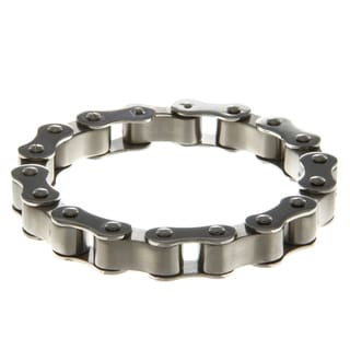 Inox Stainless Steel Men's Motorcycle Bracelet