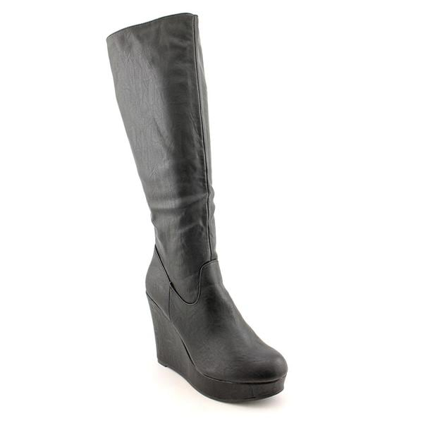 Material Girl Women's 'Amiee' Synthetic Boots