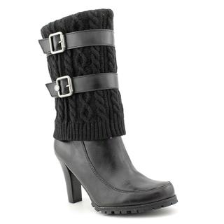 Marc Fisher Women's 'Fabric' Leather Boots