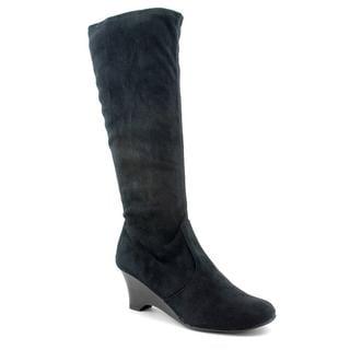 Karen Scott Women's 'Lena' Faux Suede Boots