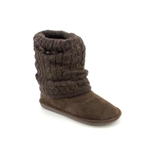 Material Girl Women's 'Shimmer' Basic Textile Boots