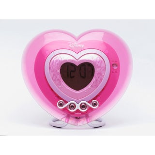 Disney Princess Alarm Clock Heart Radio
