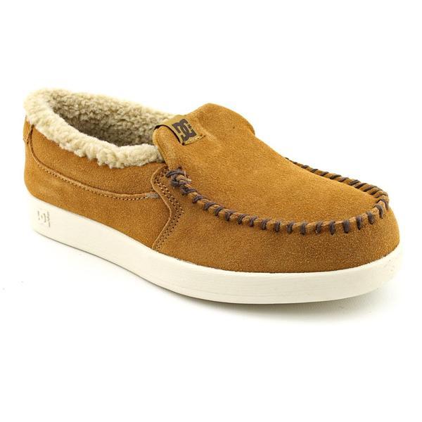 DC Boy's 'Villain LE' Regular Suede Casual Shoes (Size 5)