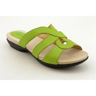 Ros Hommerson Women's 'Kiesha' Leather Sandals - Wide (Size 6)