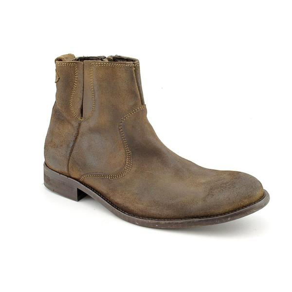 Kenneth Cole NY Men's 'Game On! ' Leather Boots (Size 9.5)