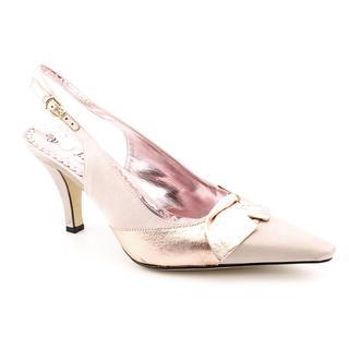 J Renee Women's 'Garbo' Satin Dress Shoes - Extra Wide (Size 7.5)
