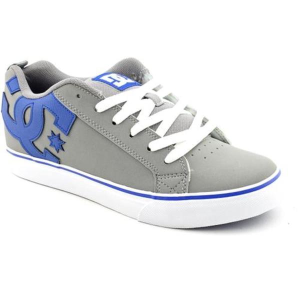 DC Boy's 'Court Vulc' Leather Athletic Shoe (Size 5)