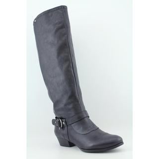 Nine West Women's 'Cyri' Black Faux Leather Boots