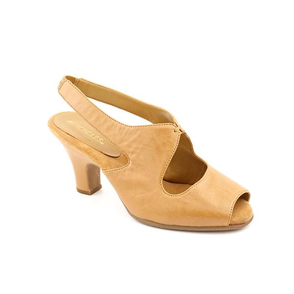 Aerosoles Women's 'Ginesis' Leather Dress Shoes - Wide (Size 9.5)