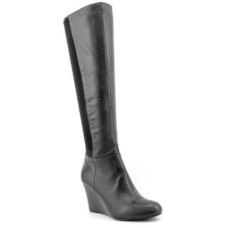 Michael Kors Women's 'Bromley Wedge Boot' Leather Boots (Size 5.5)
