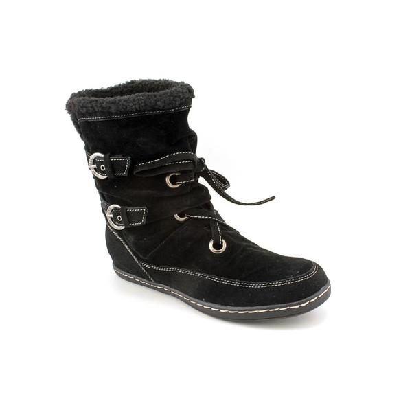 G By Guess Women's 'Rinata' Fabric Boots (Size 11)
