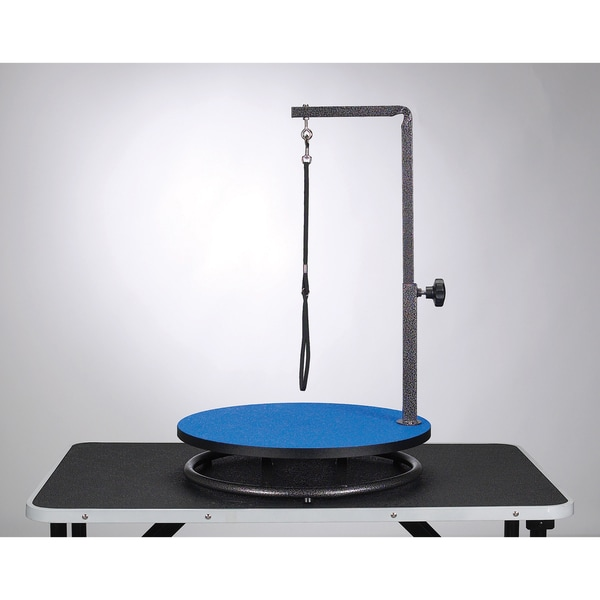 Master Equipment Small Pet Grooming Blue Table