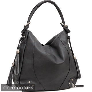 Dasein Tassel Accent Hobo Bag