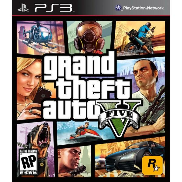 PS3 - Grand Theft Auto V