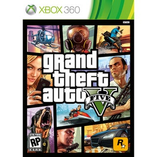 Xbox 360 - Grand Theft Auto V