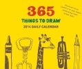 365 Things to Draw 2014 Calendar (Calendar)