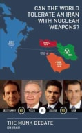Can the World Tolerate an Iran With Nuclear Weapons?: Krauthammer and Yadlin vs. Zakaria and Nasr: The Munk Debat... (Paperback)