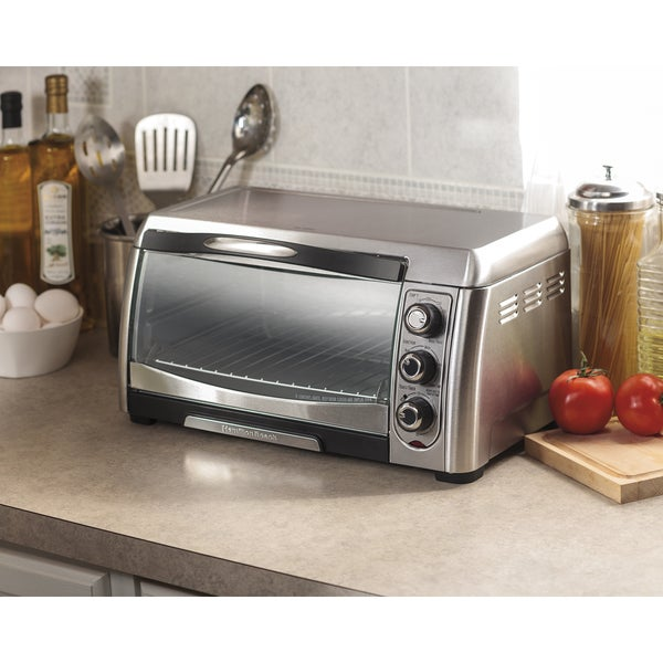 Hamilton Beach 31333 Stainless Steel 6-Slice Convection Toaster Oven