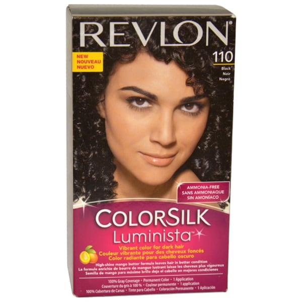Revlon Colorsilk Luminista Black #110 Hair Color (1 Application)